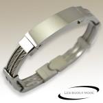 Bangle bracelet acier SBA008